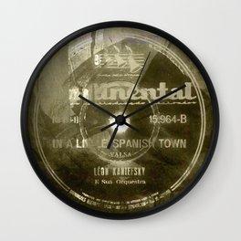 Waltz - Vintage Vinyl Wall Clock
