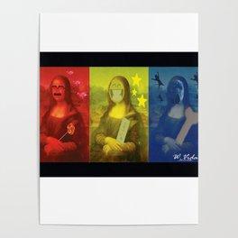 The PopTrio Lisa Poster