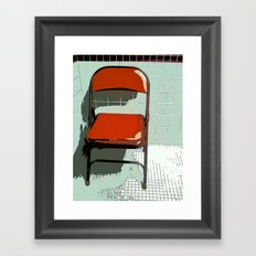 Take a load off Framed Art Print