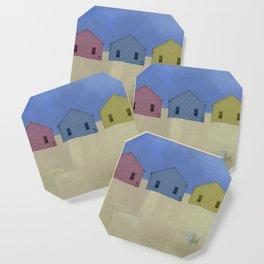 Beach Cottages, colorful houses, coastal, row houses Coaster