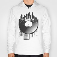 deadmau5 Hoodies featuring Urban Vinyl by Sitchko Igor