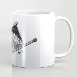 """Campfire Dream"" Hand-Drawn by Dark Mountain Arts Coffee Mug"