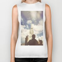 budapest hotel Biker Tanks featuring Budapest by BriAnneWills