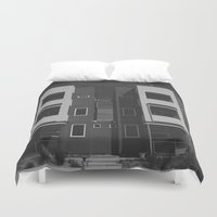 denver Duvet Covers featuring highlands denver by fat dominic