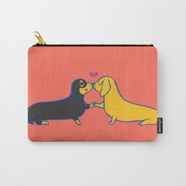 Dachshund Kisses Carry-All Pouch