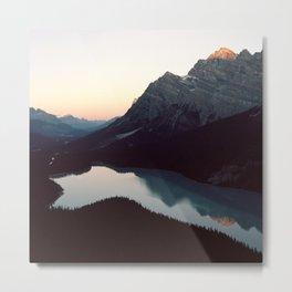 Sunrise at Peyto Lake, Alberta Metal Print