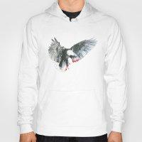 eagle Hoodies featuring Eagle by Susana Miranda ilustración