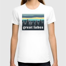 Great Lakes Tree Line T-shirt