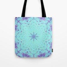 Plasma Flower Tote Bag