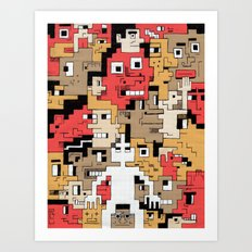 Byte Little Art Print