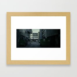 City 002 Framed Art Print