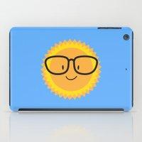 sunglasses iPad Cases featuring Sunglasses by Danielle Podeszek