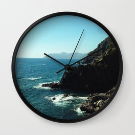 A Blue View Wall Clock