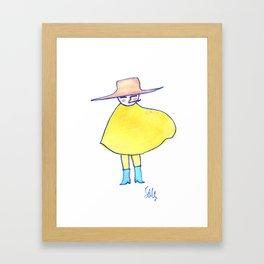 Clint - Cowboy Framed Art Print