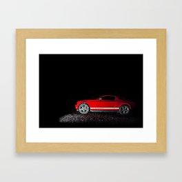 Mustang Ready Framed Art Print