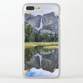 Yosemite Reflection Clear iPhone Case