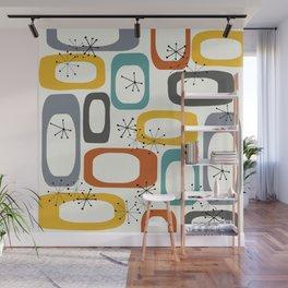 Mid Century Modern Shapes 02 #society6 #buyart Wall Mural