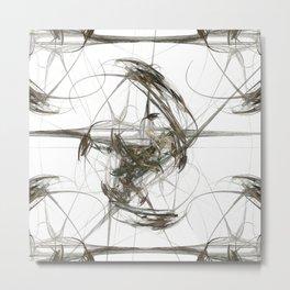 Balance in Distortion Metal Print
