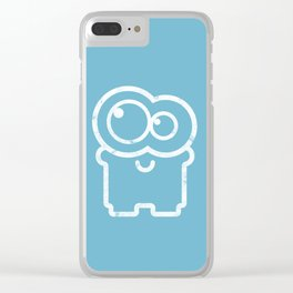 Funny cartoon character Clear iPhone Case