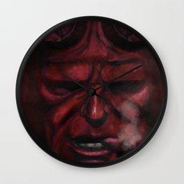 Hell Boy - 2015 Wall Clock