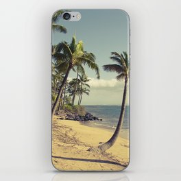 Maui Lu Beach Kihei Maui Hawaii iPhone Skin