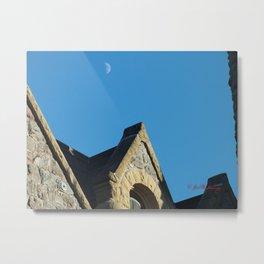 Seminary Moon Metal Print