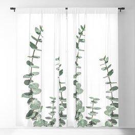 Eucalyptus Leaves Blackout Curtain