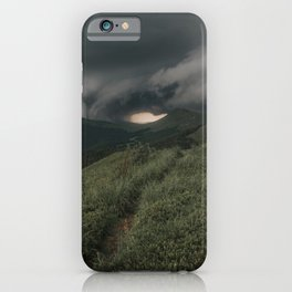 A Storm is Coming - Landscape and Nature Photography iPhone Case