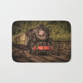 Express Train to Whitby Bath Mat