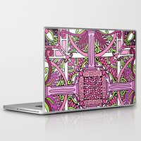 burlesque Laptop & iPad Skins featuring HELLENIC BURLESQUE by AZZURRO ARTS