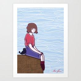 Precipice Art Print