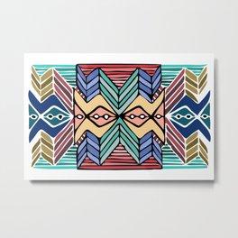 step Metal Print