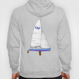 470 Olympic Sailboat Hoody