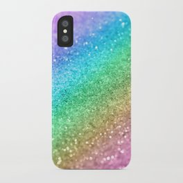 Rainbow Princess Glitter #1 (Photography) #shiny #decor #art #society6 iPhone Case