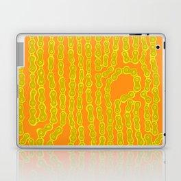 Bike Chain - Olive Citrus Laptop & iPad Skin
