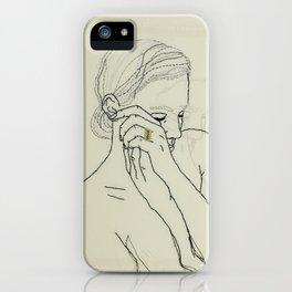 Grief iPhone Case