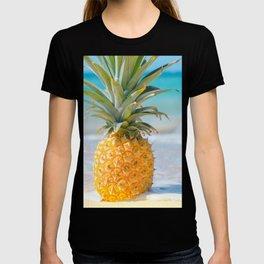 Aloha Pineapple Beach Kanahā Maui Hawaii T-shirt