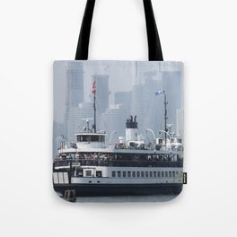 Centre Island Ferry Summer Day Fine Art Photography Tote Bag