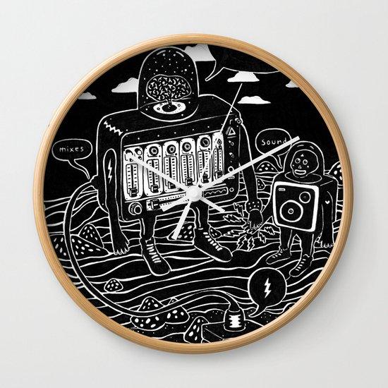 sound check Wall Clock
