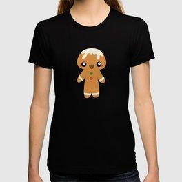 Christmas Card - Gingerbread Kid T-shirt