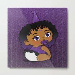 Baby Witch Metal Print