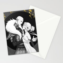 The heart of the wolf Stationery Cards