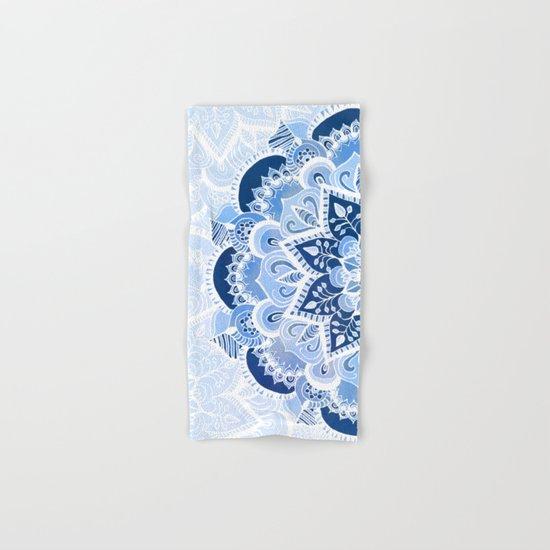 Lacy Blues Hand & Bath Towel