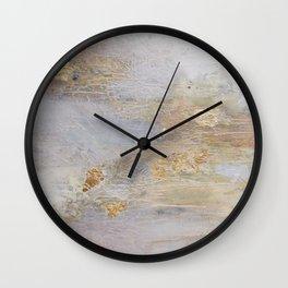 Over Black Wall Clock
