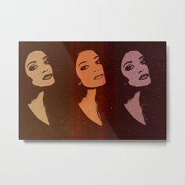 Three portraits Metal Print
