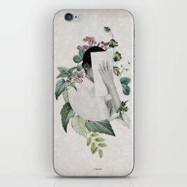 Floral portrait ... iPhone Skin