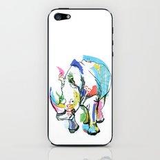 Rhino colour iPhone & iPod Skin