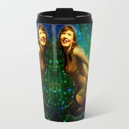 Galaxy Toot Girl | Sexy Pin Up Humor Travel Mug