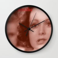 smiths Wall Clocks featuring The Smiths: And I Was Bored Before I Even Began by trx0x