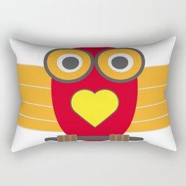 Mr Bird Rectangular Pillow